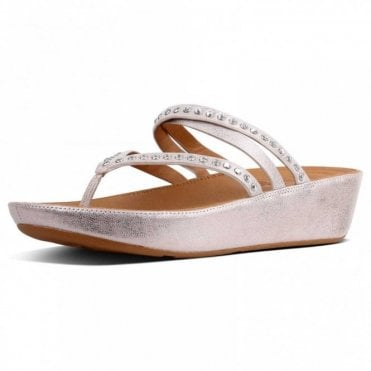 Linny™ Criss Cross Toe Thong Sandal