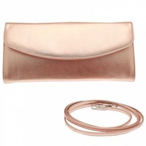 Liv Folder Over Clutch Bag With Strap