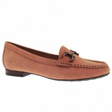 Loafer Style Buckle Detail Trim Moccasin