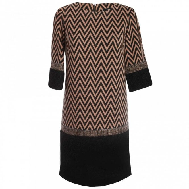 Badoo Long Sleeve Charleston Box Dress