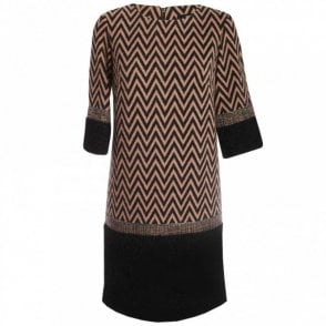 Long Sleeve Charleston Box Dress