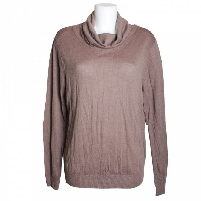 Tuzzi Long Sleeve Distressed Look Polo Jumper