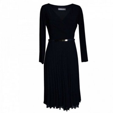 Long Sleeve Dress With Belt