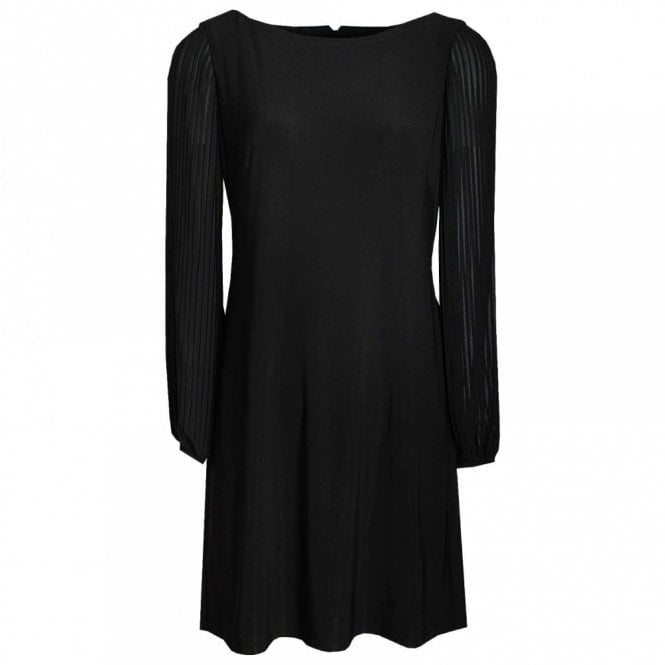 Frank Lyman Long Sleeve Dress With Rounded Neck