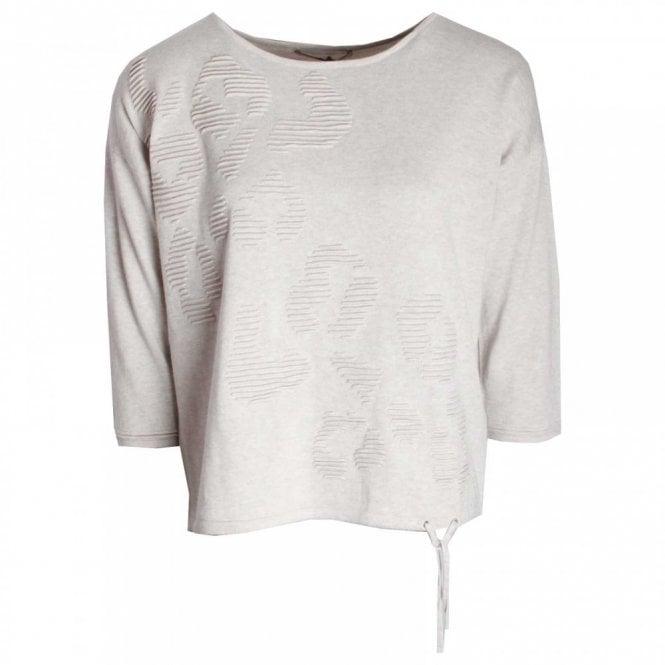 Oui Long Sleeve Fine Knit Jumper