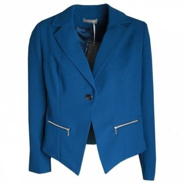 Long Sleeve Fitted Jacket / Blazer