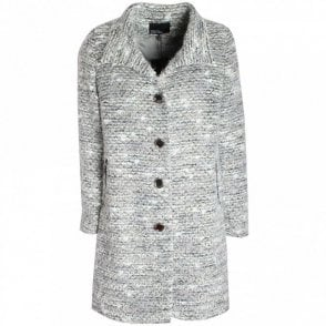 Long Sleeve Knitted Button Up Jacket