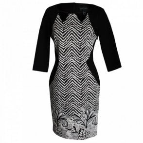 Long Sleeve Pattern Dress