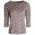 Betty Barclay Long Sleeve Round Neck Spotted Top