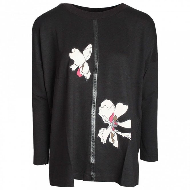 Badoo Long Sleeve Top With Motif