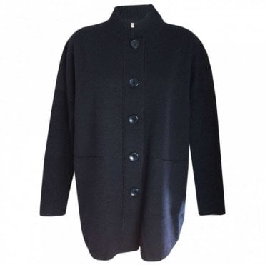 Long Sleeve Wool Blend Jacket