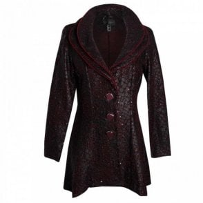 Long Sleeved Double Layer Collar Jacket
