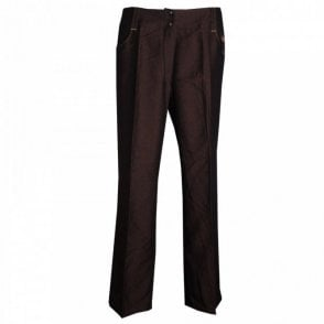 Pause Cafe Long Trouser With Stitch Highlighting