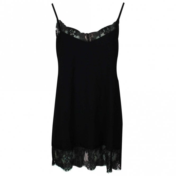 Hope Longline Cami Top With Lace