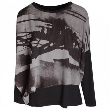 Loose Layered Long Sleeve Top