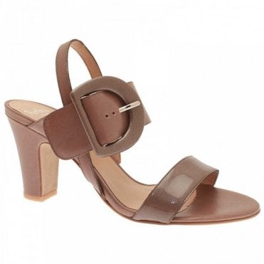 Low Heel Ankle Strap Sandal