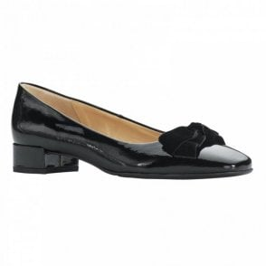 Low Heel Bow Detail Ballet Pump