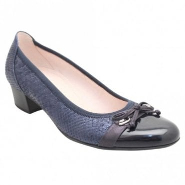 Gabor Low Heel Rounded Closed Toe Court Shoes