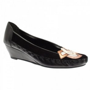 Low Wedge Ballet Pump