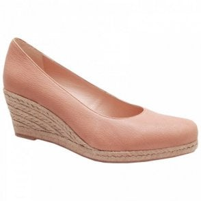 Low Wedge Close Toe Shoes