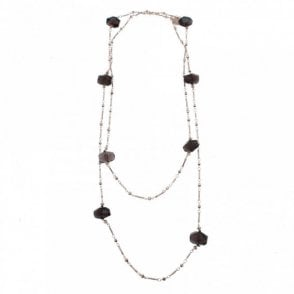 Luxe Smokey Quartz Necklace