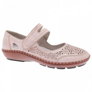 Mary Jane Flat Shoe