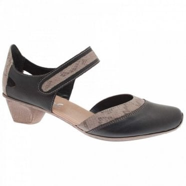 Rieker Mary Jane Low Heel Court