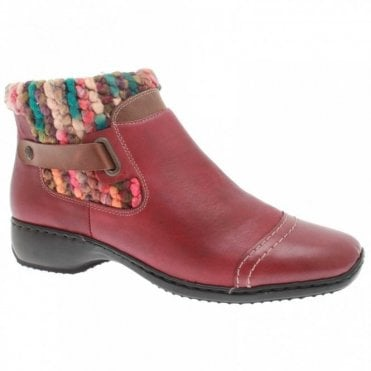 Merino Wool Lined Pull On Ankle Boot