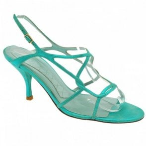 Met Green Sling Back Sandal
