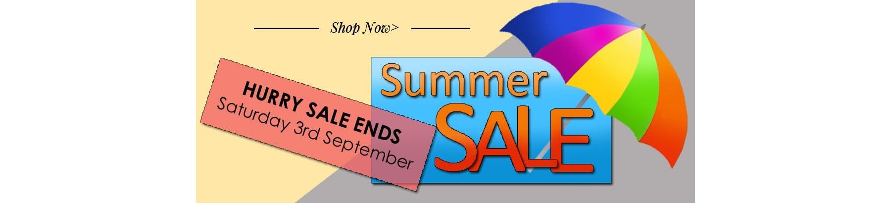 Sales Ends