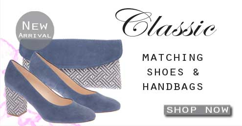 Classic Court Shoes & Matching Handbags