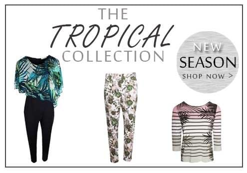 Shop This Season Tropical Prints