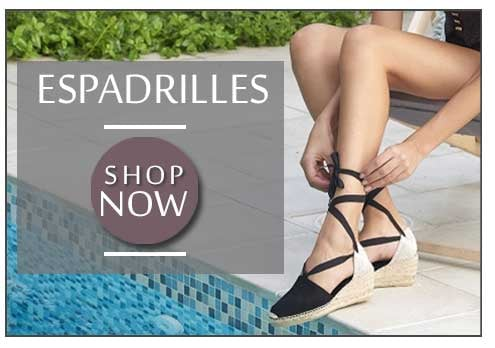 Summer Espadrilles At Walk In Style