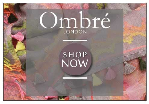 Ombre Scarves At Walk In Style