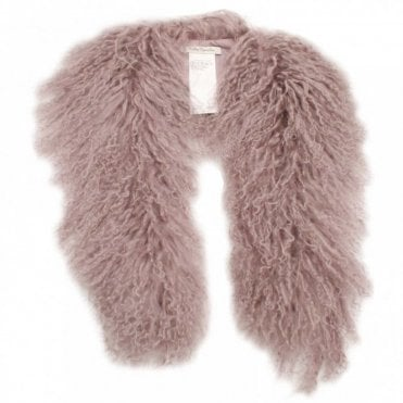 Moon Rock Faux Fur Collar