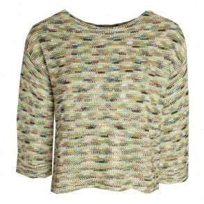 Multi Colour Long Sleeve Knit Jumper