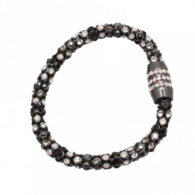 Nour London Multi Crystal Magnetic Bracelet