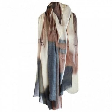 Multi Print Lightweight Long Scarf