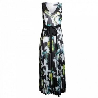 Multi Print Long Dress