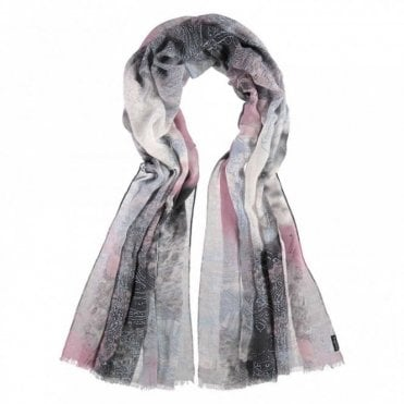 Multi Print Long Scarf