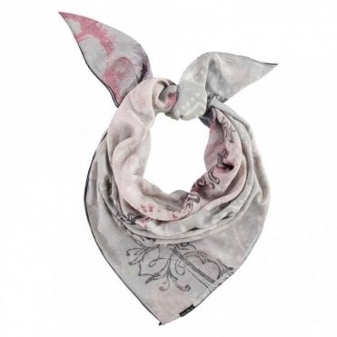 Fraas Multi Print Square Scarf