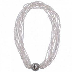Multi Strand Magnetic Clasp Necklace