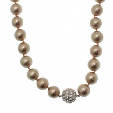 Multi Strand Magnetic Pearl Necklace