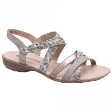 Remonte Multi Strap Adjustable Flat Sandal
