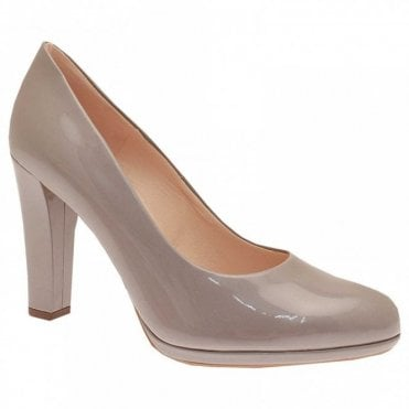 Naomi Platform High Heel Court Shoe