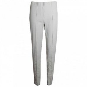 Narrow Leg Trousers With Elastic Waist