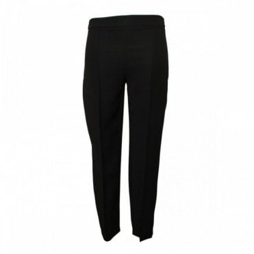 Narrow Leg Trousers With Pleat Detail