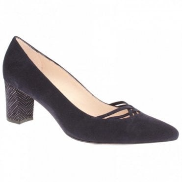 Natasia Block Heel Court Shoe