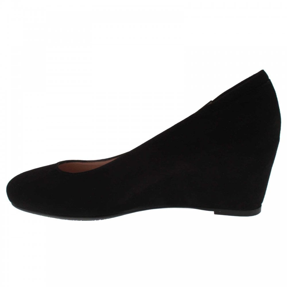 Suede Wedge Court Shoe By Peter Kaiser