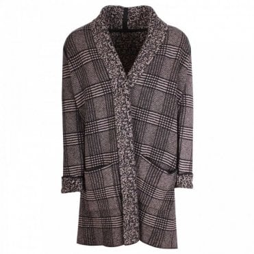 Thought Open Front Reversible Woolblend Cardigan